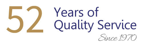 48 Years of Quality Service - Since 1970
